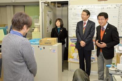 田村・真島両衆院議員団体訪問