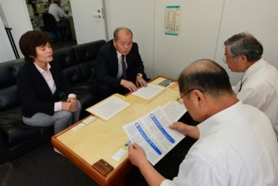 日本共産党福岡県委員会 懇談呼びかけ 「国民連合政府」の提案