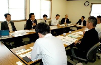仁比聡平参院議員、田村貴昭衆院議員、全日本港湾労働組合関門支部と懇談
