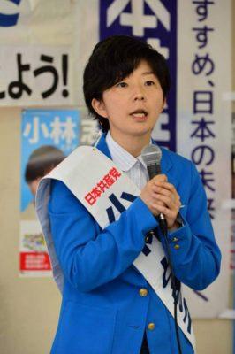 衆院補選 福岡6区 小林とき子候補