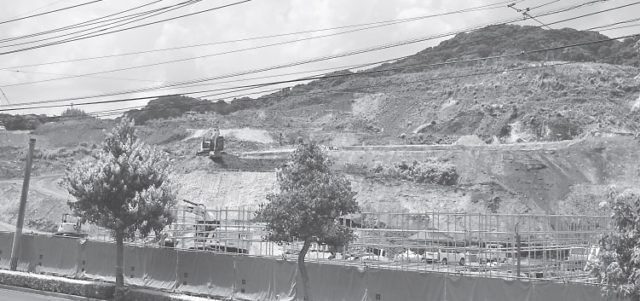 現在、造成中の緑ヶ丘地区